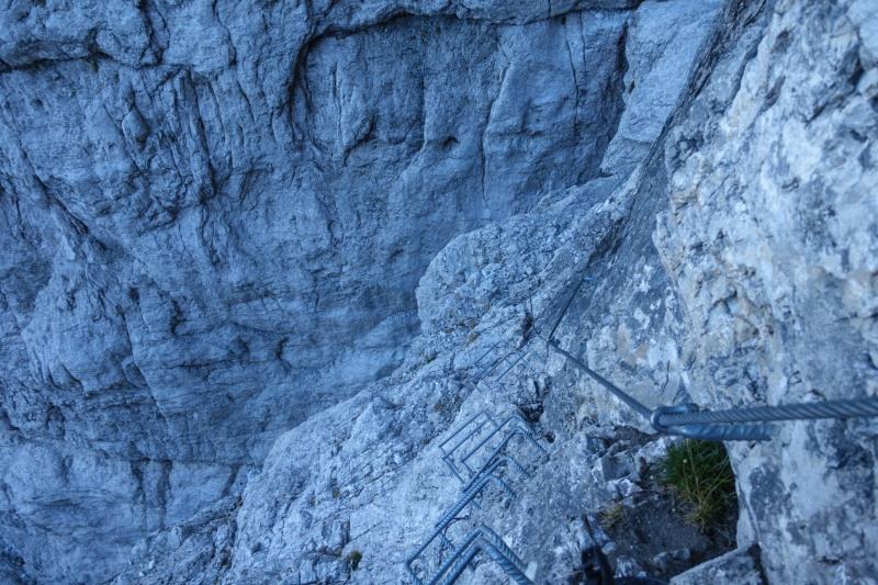 Looking down (Brenta Dolomites 2016)