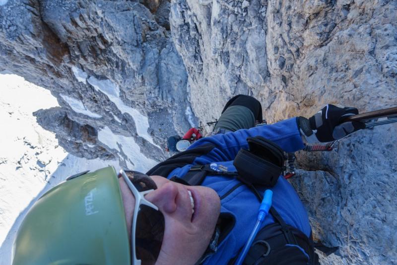 Looking down (Brenta Dolomites)