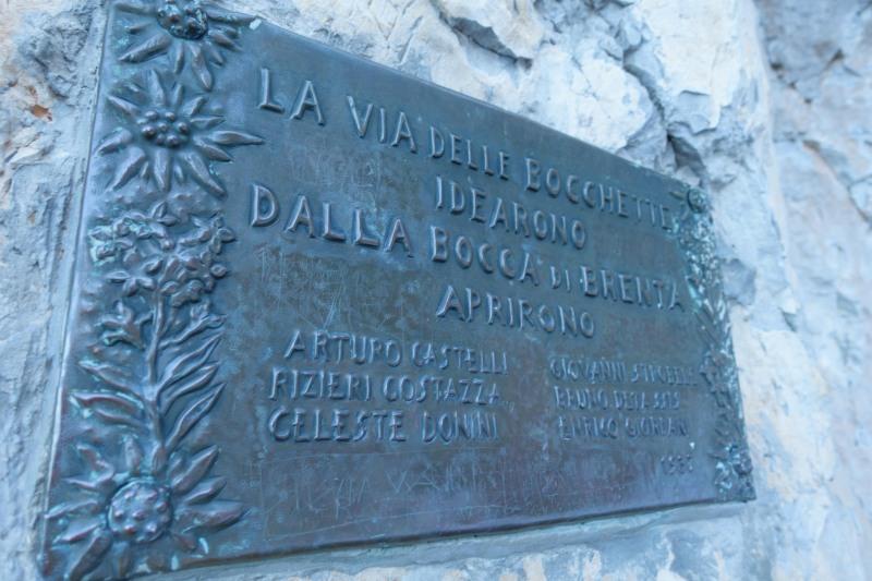 Sign (Brenta Dolomites)