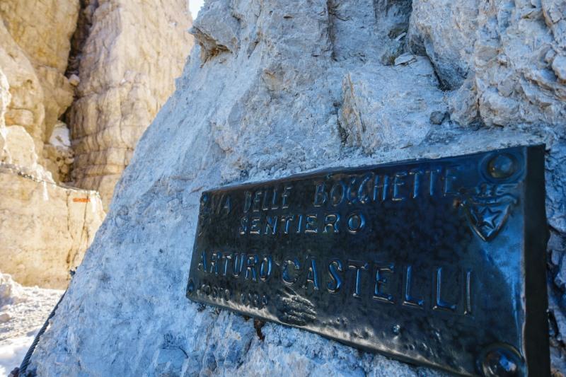 Signage 2 (Brenta Dolomites)