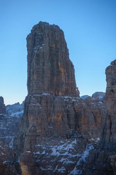 The Campanile Alto (Brenta Dolomites)
