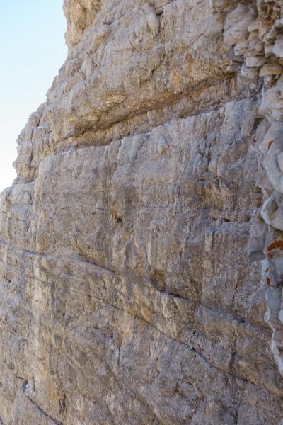 The narrow pathway (Brenta Dolomites)