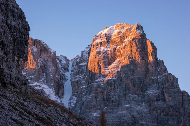 View from the biv (Brenta Dolomites)