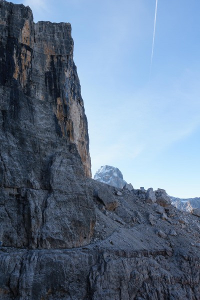 View of rock and sky (Brenta Dolomites 2016)