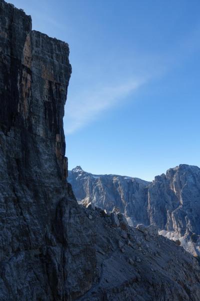View of sky (Brenta Dolomites 2016)