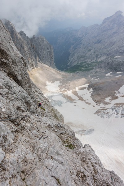Looking back (Zugspitze July 2018)