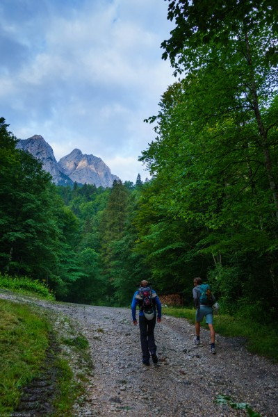Walking (Zugspitze July 2018)