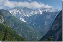 View of the mountains (Slovenia)