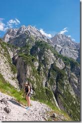 Ascending to Luknja (Summer Holidays 2016)