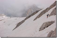 Crossing more snow (Summer Holidays 2016)