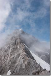 View along the ridge to Triglav (Summer Holidays 2016)