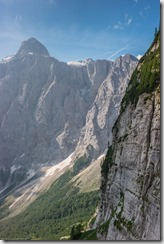 View with Triglav in the background (Summer Holidays 2016)