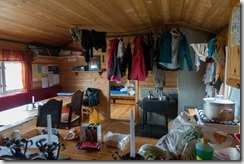 Getting settled in in Torsbu DNT hut (Cycle Touring Norway 2016)