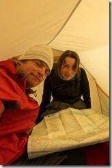 Inside the tent (Cycle Touring Norway 2016)
