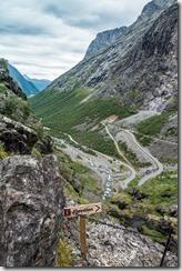 Trollstigen 2 (Cycle Touring Norway 2016)