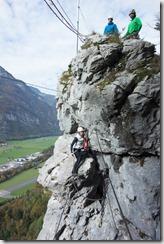 Posing guys (Indianer Klettersteig Oct 2016)