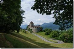 View of the  king's castle on the marathon route (LGT Marathon)