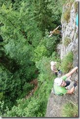 Brustwand Klettersteig 2 (Salzkammergut Adventures)