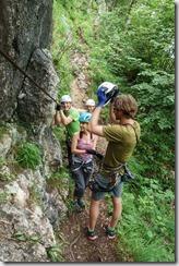 Brustwand Klettersteig (Salzkammergut Adventures)