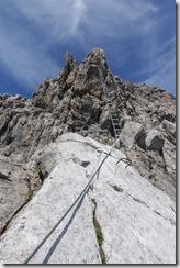 Ladder (Saulakopf Klettersteig)