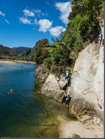 Walking in to the canyon (Waterfall Creek Canyoning)