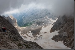 Cloud coming in (Zugspitze July 2018)
