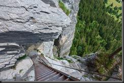 Looking down (Flims, Switzerland)