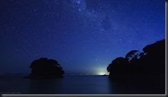 Mosquito Bay at night (Seakayaking Abel Tasman NP)