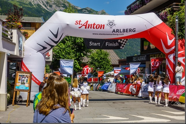 At the finish line (Arlberg Giro 2019)