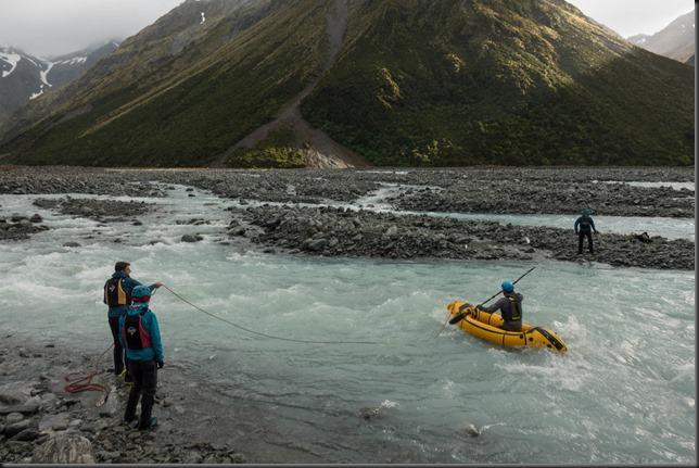 Crossing the Eric (Mountain Rafting Dec 2018)