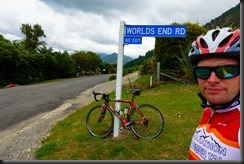 At Worlds End (Cycling Marlborough Sounds)