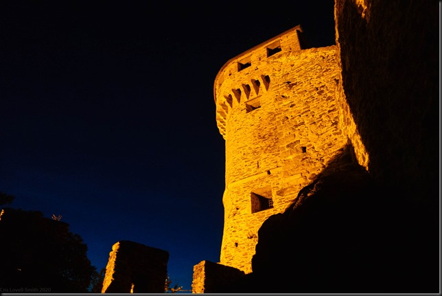 Castle in the town (Canyoning Italy 2019)