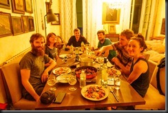 Dinner time (Canyoning Italy 2019)