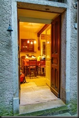 Entrance to our Air BnB (Canyoning Italy 2019)