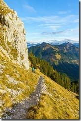 Ari walking (Climbing Tannheimer Tal 2019)