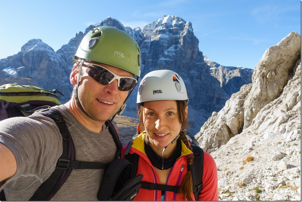 Cris and Leonie (Brenta Dolomites 2016)
