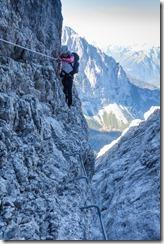 Leonie sidling 2 (Brenta Dolomites 2016)