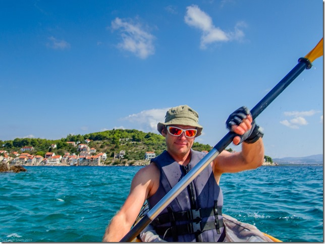 Off for more kayaking (Seakayaking Croatia Sept 2019)