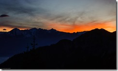 Sunset from Solsteinhaus (Exploring Karwendel)