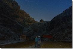 Us at night (Brenta Dolomites 2016)