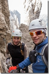 Us in the mountains (Exploring Karwendel)