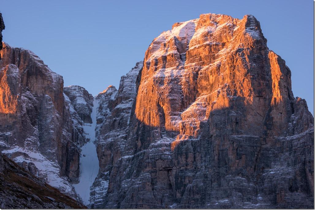 View from the biv 2 (Brenta Dolomites)