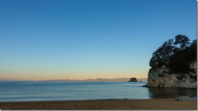 Almost midwinter in Kaiteriteri