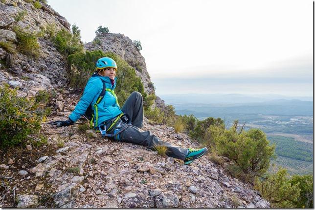 Ari sitting (Visiting Barcelona 2019)