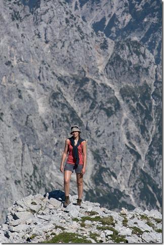 Leonie and rocks (Summer Holidays 2015)
