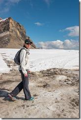 On the glacier (Humani Trail 2016)