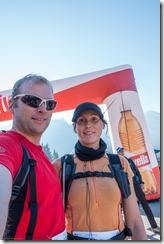 Us at the start line (Humani Trail 2016)
