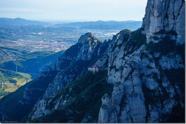 View from Montserrat (Visiting Barcelona 2019)