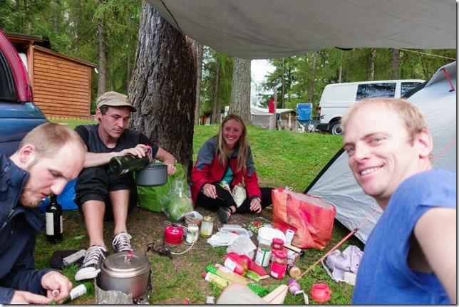 Camping in Cortina (Dolomitten ohne Grenzen 2019)
