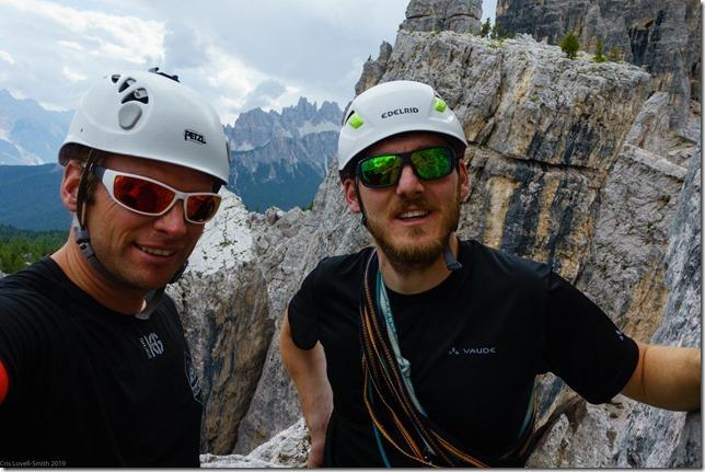 Cris and Johannes (Dolomitten ohne Grenzen 2019)